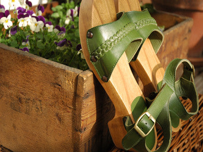 Polder / Bobby Clog Olive (sandals) 送料無料!