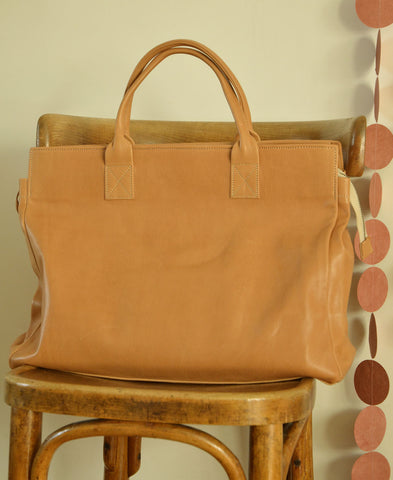 Honore / coba fermeture sac (marron / beige) 送料無料!