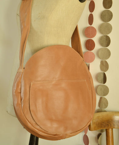 Honore / sac rond (marron / caramel) 送料無料!