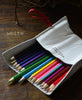 Bandit Manchot / leather case & 18 colored pencils