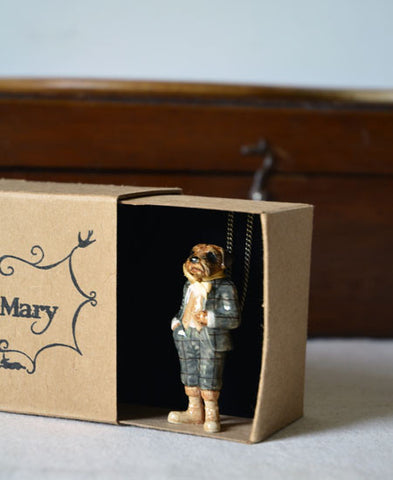 And Mary / Mr Border terrier necklace (NAB89) 送料無料!