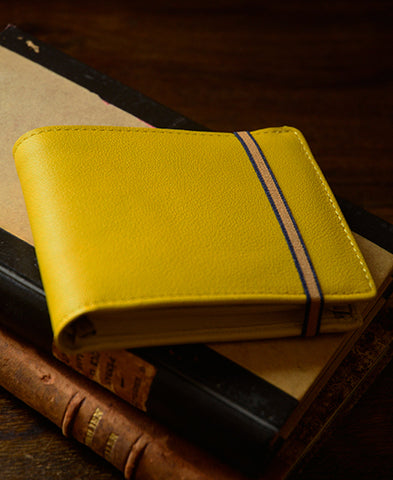 Carre Royal / Elasticated band wallet LA901  (jaune)