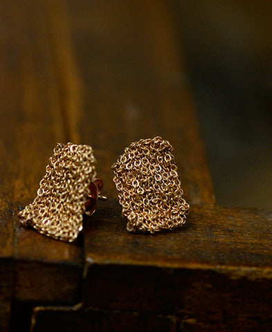 delphine lamarque jewelry / tiny earings (TINYEP/pink)