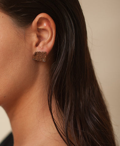 delphine lamarque jewelry / tiny earings (TINYER/raw)