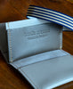 Bandit Manchot / leather multi card holder (light grey)