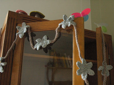 April Showers / Garland / 500cm (grey / silver)