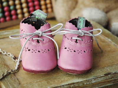 Filament Baby Shoes (parme Rose)