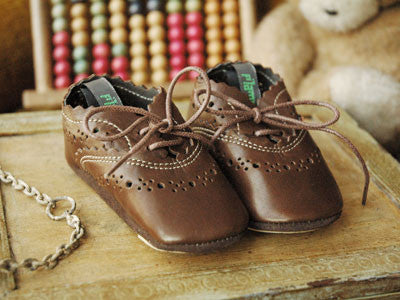 Filament Baby Shoes (Chocolat fondu)