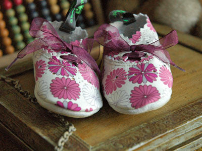 Filament Baby Shoes (Liberty Quartant Fleur)