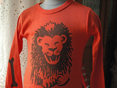 maisongeorgette T-shirts / lion (orange)
