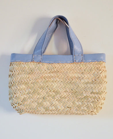 Morocco Marche bag  / Square (dutch blue)
