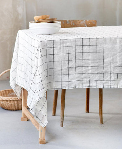 not PERFECTLINEN / TABLE CLOTH (large checks)