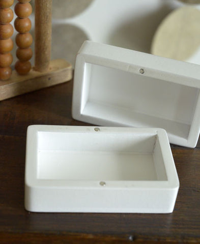 【送料無料】LITOLFF / baby tooth container (one hare / white)