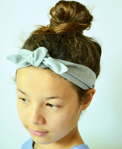【30%off】Obi Obi / bandeau (light blue-grey)