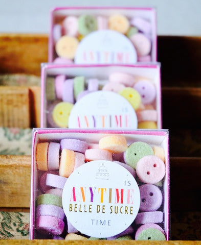 【送料無料】Belle de Sucre / Anytime for tea time multicolores (boutons)