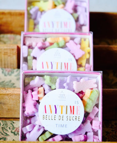 Belle de Sucre / Anytime for tea time multicolores (oursons) 送料無料!