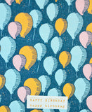 season paper / carte d'anniversaire (all the balloons)