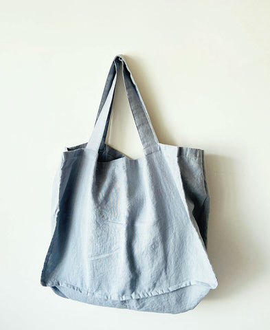 not PERFECTLINEN / TOTE BAG (light elephant grey)