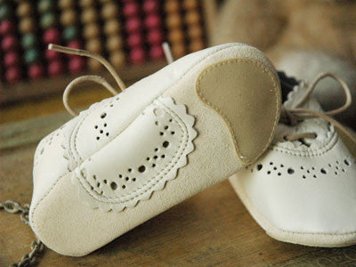 Filament Baby Shoes (Cream)