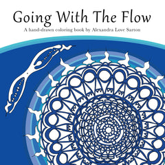Going With The Flow: A Mandala Coloring Book