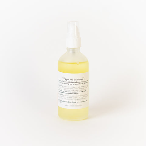Sweet Citrus Shave Oil
