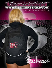 Bling Backpack Featuring Matrix Allstars Rhinestone Logo