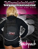 Bling Backpack Featuring PA Heat All-Stars Rhinestone Logo