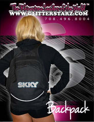 Bling Backpack Featuring Skky Allstars Rhinestone Logo