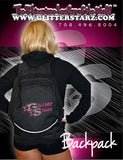 Bling Backpack Featuring GlitterStarz Rhinestone Logo