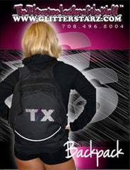 Bling Backpack Featuring Texas Thunder Rhinestone Logo