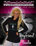 Boyfriend Style Longer Length Hoodie Featuring Adirondack Dance Company Logo