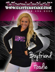Boyfriend Style Longer Length Hoodie Featuring Epic Allstars Logo