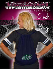 Bling Cinch Bag Featuring Buffalo Envy Rhinestone Logo