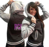 Collegiate Jacket featuring Rhinestone River City Allstars Logo