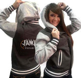 Collegiate Jacket featuring Rhinestone JoAnn Warren Studio Logo