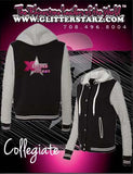 Collegiate Jacket Featuring Xtreme Tumble and Cheer Logo