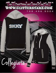 Collegiate Jacket Featuring Skky Allstars Logo