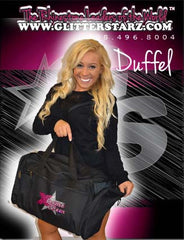 Bling Duffel Bag Featuring Xtreme Tumble and Cheer Rhinestone Logo