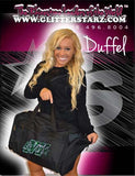 Bling Duffel Bag Featuring Buffalo Envy Rhinestone Logo