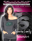 Favorite Comfy Sweatshirt Featuring Buffalo Envy Rhinestone Logo