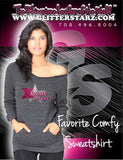Favorite Comfy Sweatshirt Featuring Xtreme Tumble and Cheer Rhinestone Logo