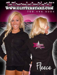 Fleece Jacket Featuring Xtreme Tumble and Cheer Rhinestone Logo on Back