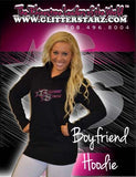 Boyfriend Style Longer Length Hoodie Featuring GlitterStarz  Logo