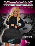 Bling Garment Bag Featuring Buffalo Envy Rhinestone Logo