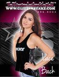 Lace Tank Featuring Skky Allstars Rhinestone Logo