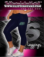 Leggings Featuring Buffalo Envy Rhinestone Logo