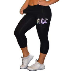 Leggings Featuring ACC Rhinestone Logo