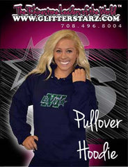 Pullover Style Hoodie Featuring Rhinestone Buffalo Envy Logo