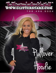 Pullover Style Hoodie Featuring Rhinestone Xtreme Tumble and Cheer Logo