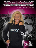 Pullover Style Hoodie Featuring Rhinestone Skky Allstars Logo